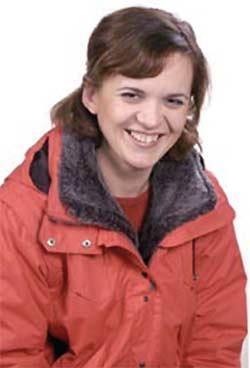Editor-in-chief Maria Belenja