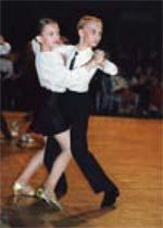 Sports ballroom dances