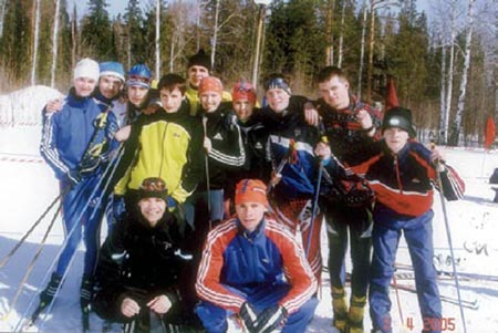 Command of biathlonists