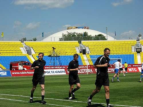 Professional photos training of judges of football trenirovka futbolnyh sudej