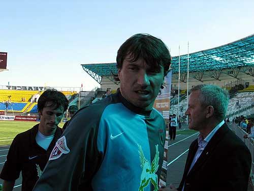 photos the goalkeeper aleksandr kolinko