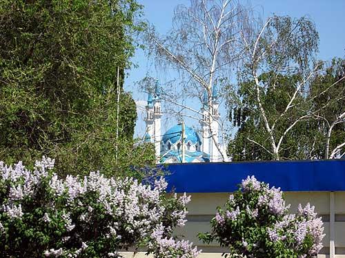 Mosque kul sharif mechet kul sharif