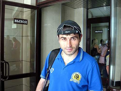 football player georgij bazaev