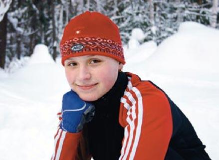 Sportswoman Larissa Nadeeva